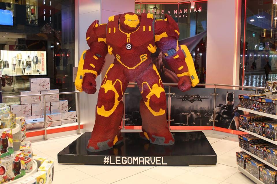 Life-Size LEGO Hulk Buster 2