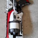 Nerf strongarm white