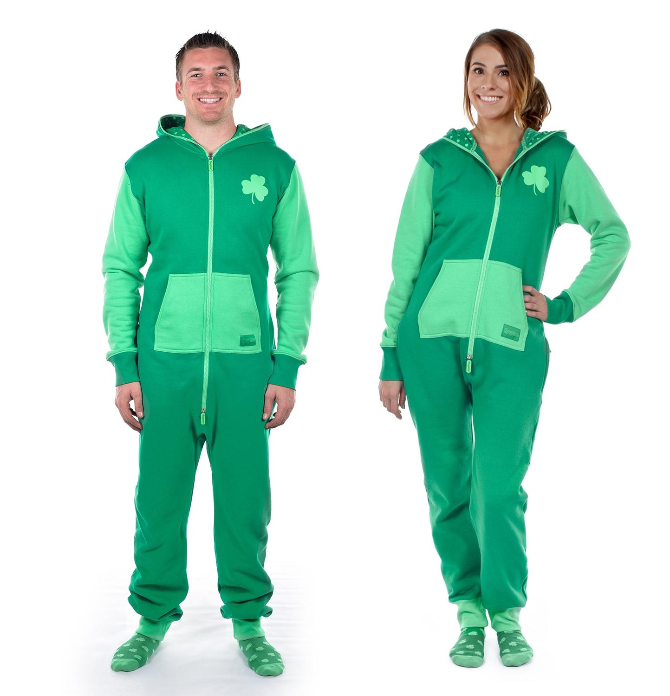 St. Patrick's Day jumpsuit