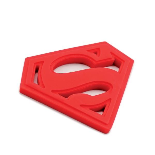 Superman Logo Silicon Teether