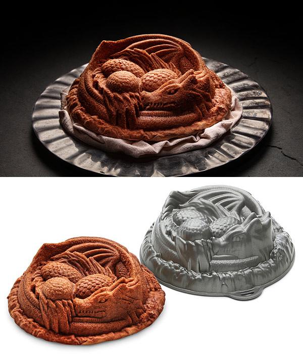 The Dragon Cake Pan