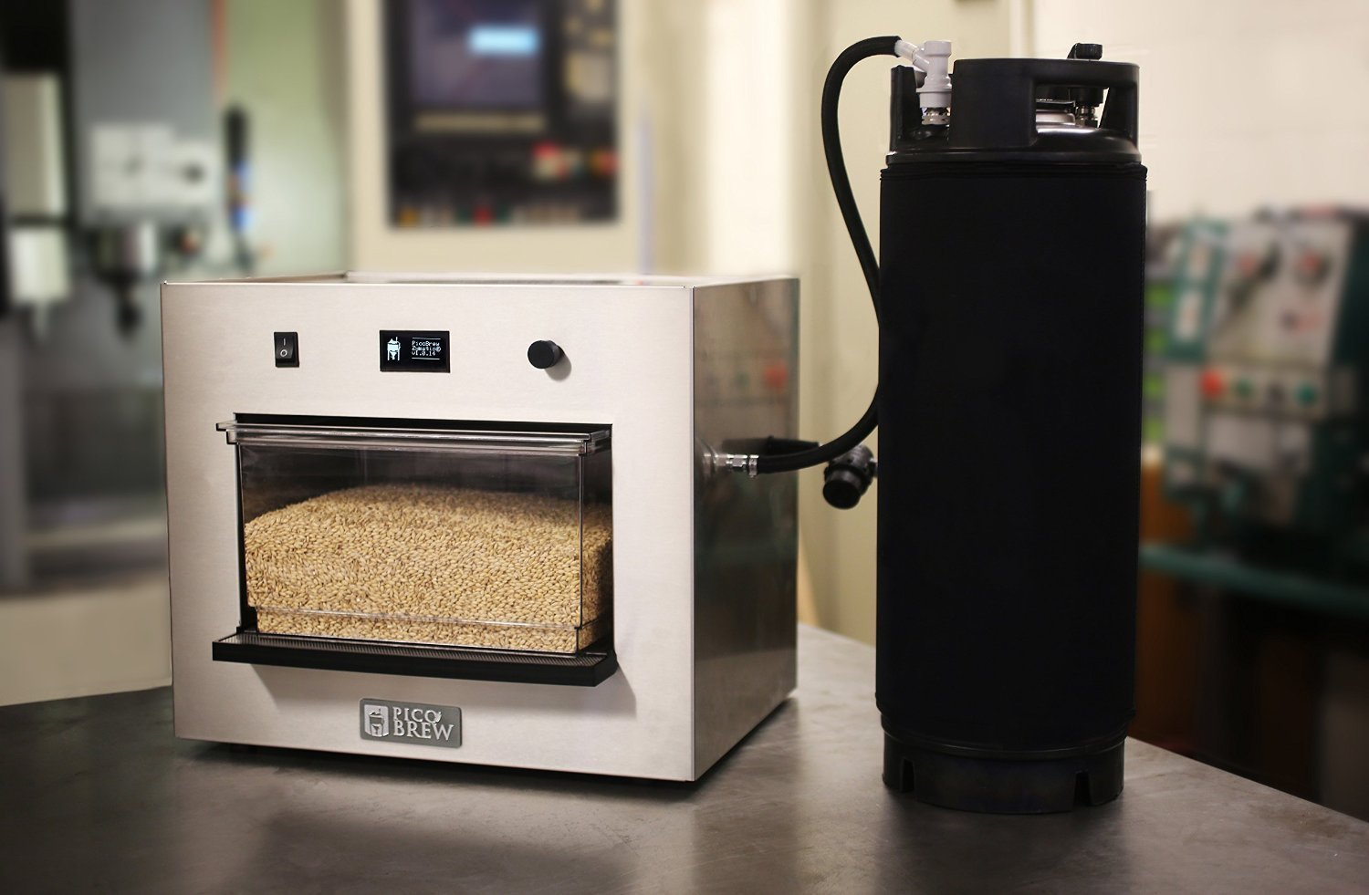 World's First All-grain Beer Brewing Appliance