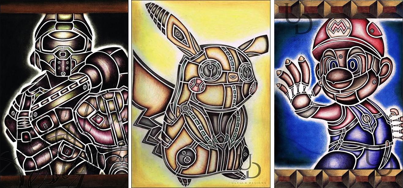 amazing Steampunk Video Games Art