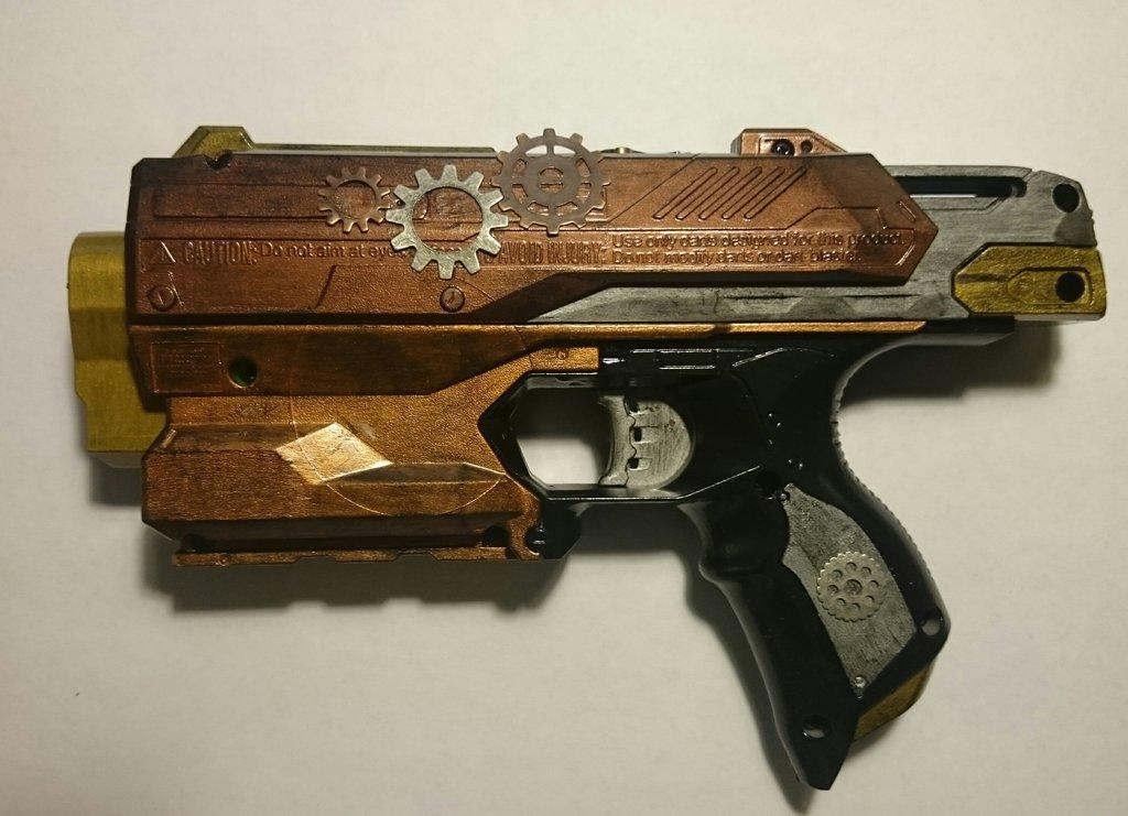 best nerf mode Steampunk Nerf Gun