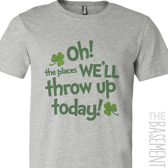 funny st. patrick's day shirt