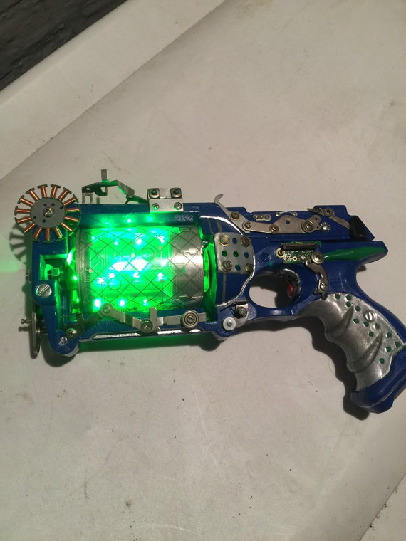 nerf cyberpunk steampunk mode nerf gun