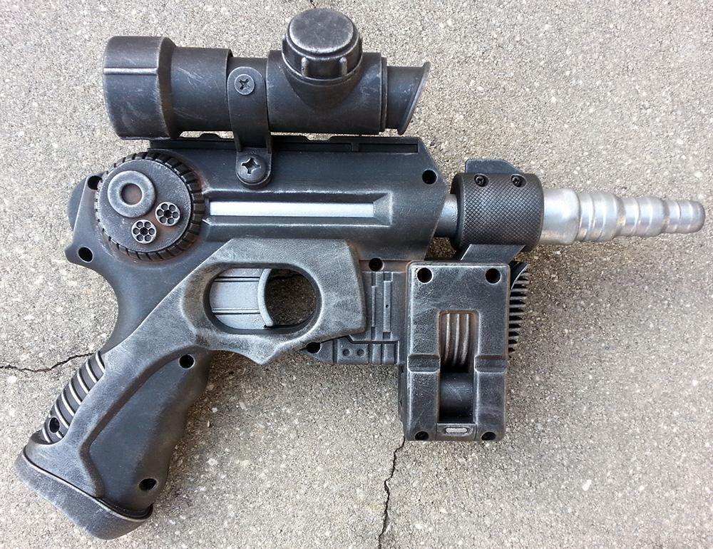nerf mode  star wars blaster pistol gun