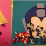 nintendo  paper cuts art