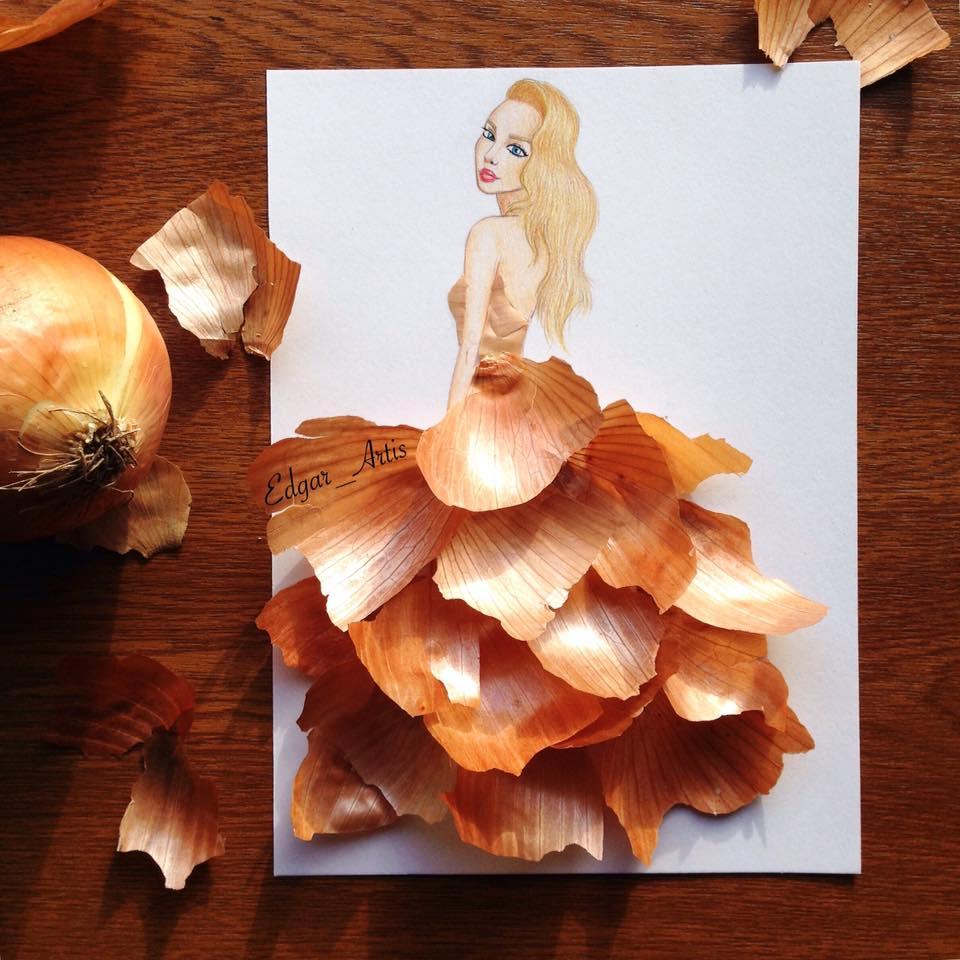 onions dress