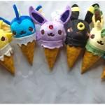 pokemon Cream Plush toys fanart