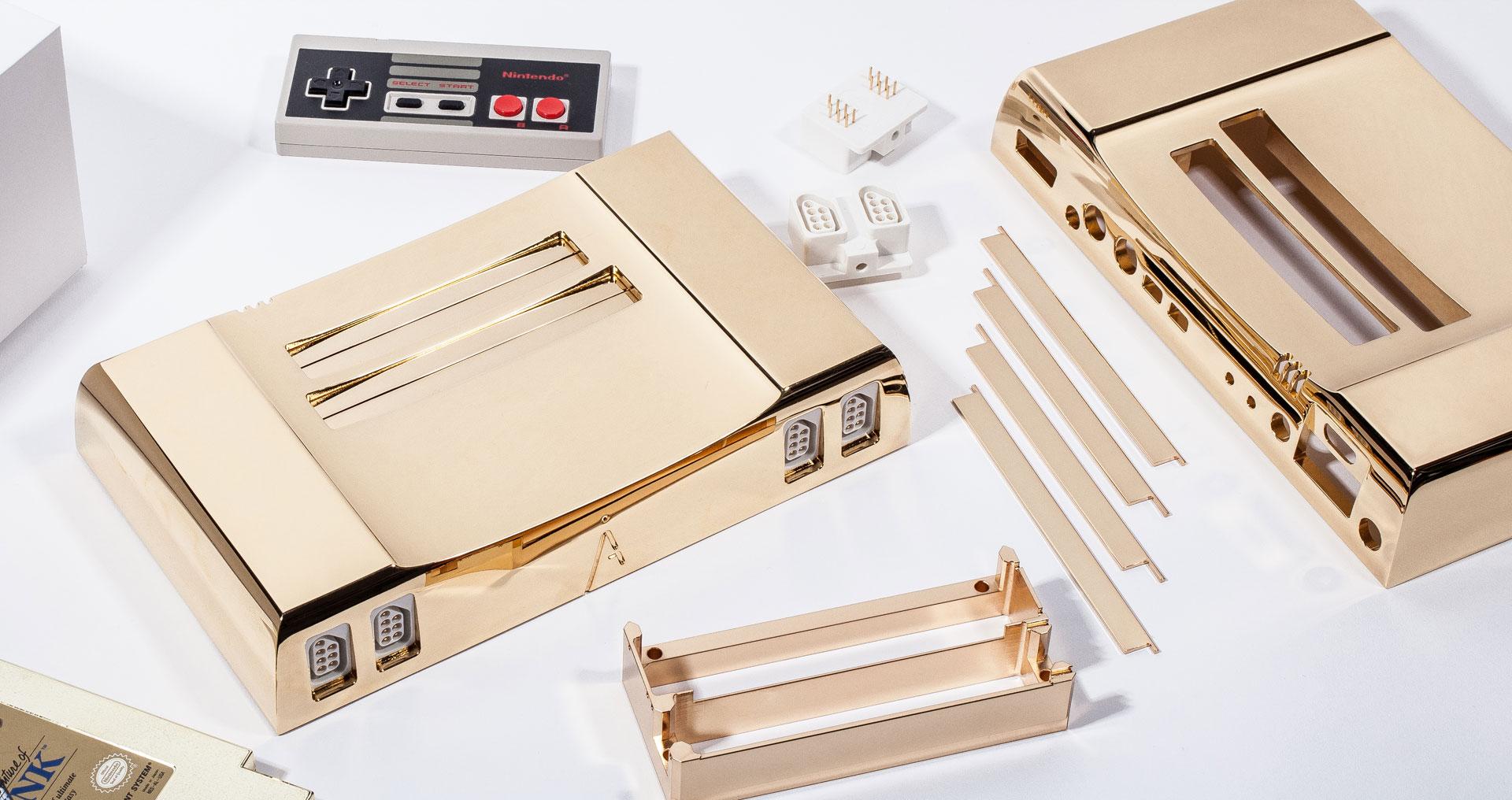 A 24K Gold NES To Celebrate Zelda's 30th Anniversary