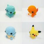Adorable Pokemon crochets 1