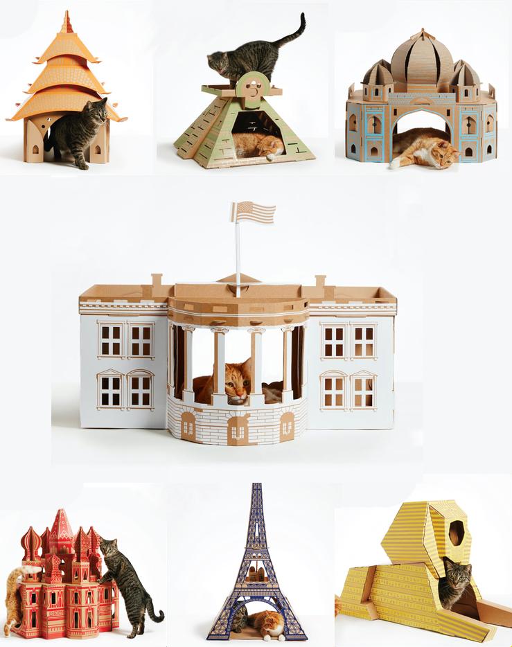 Amazing Cardboard Cat Houses 3