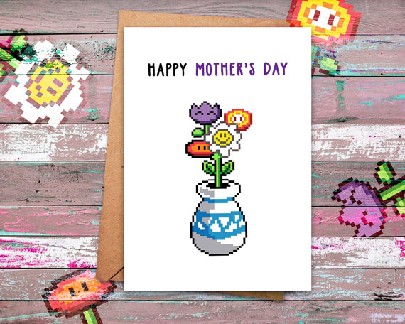Funny Mothers Day Cards 2 geeks