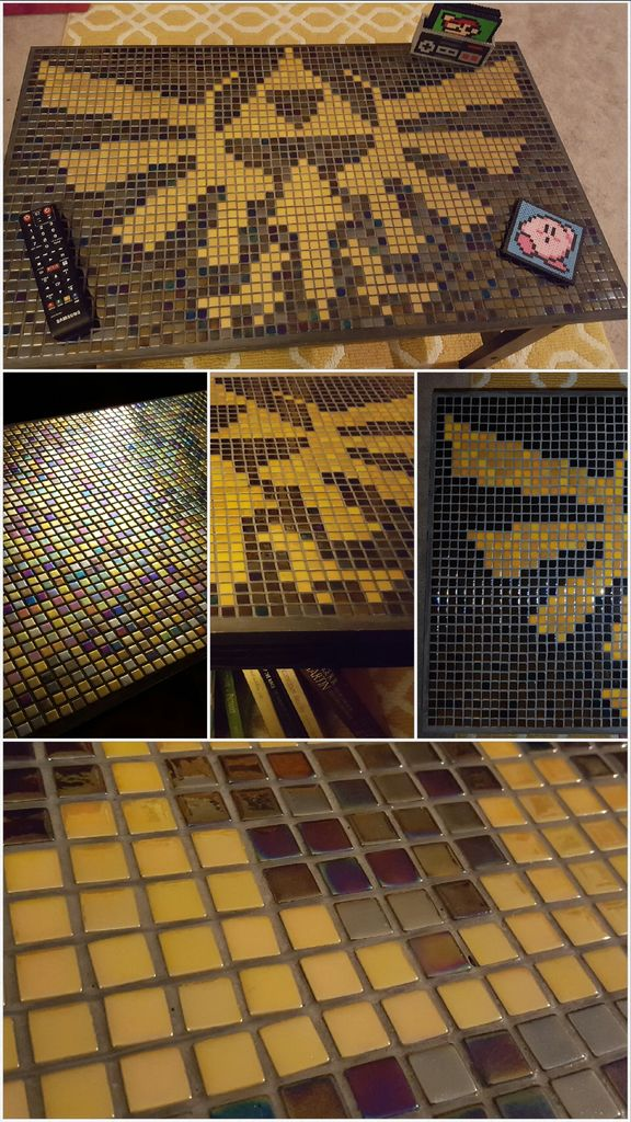 Incredible Mosaic The Legend of Zelda Coffee Table 2