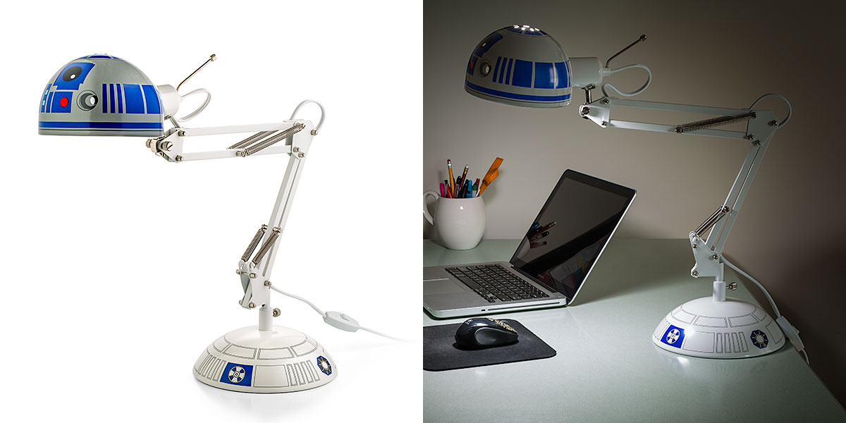 R2 D2 Architectural Desk Lamp