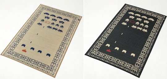 Space Invaders Tatami Rug