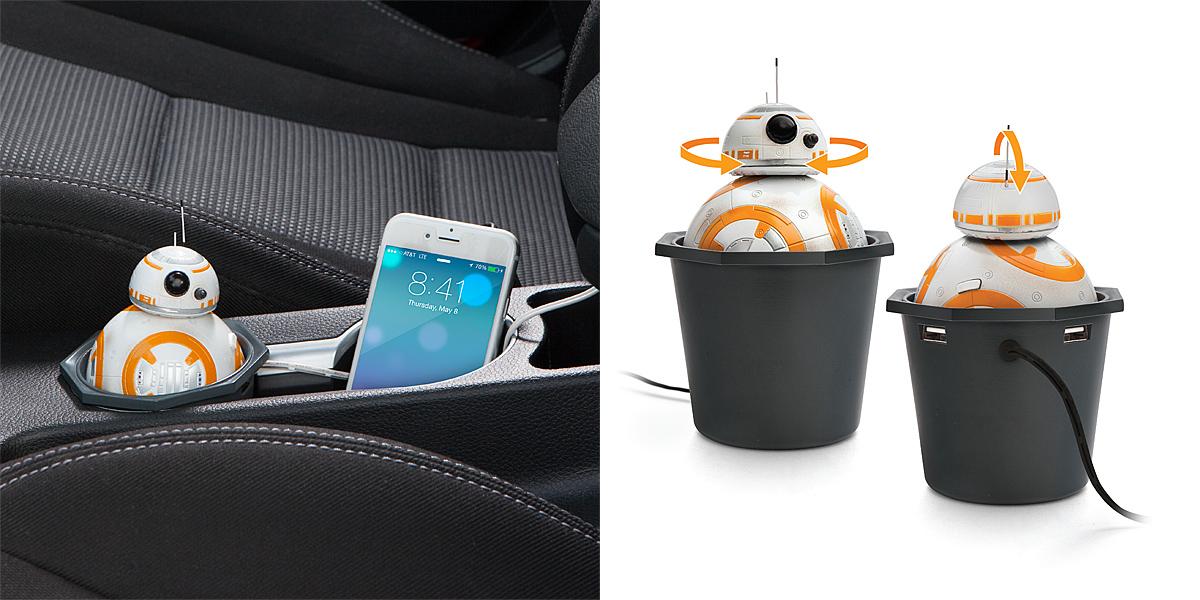 Star Wars BB-8 USB Car Charger 2