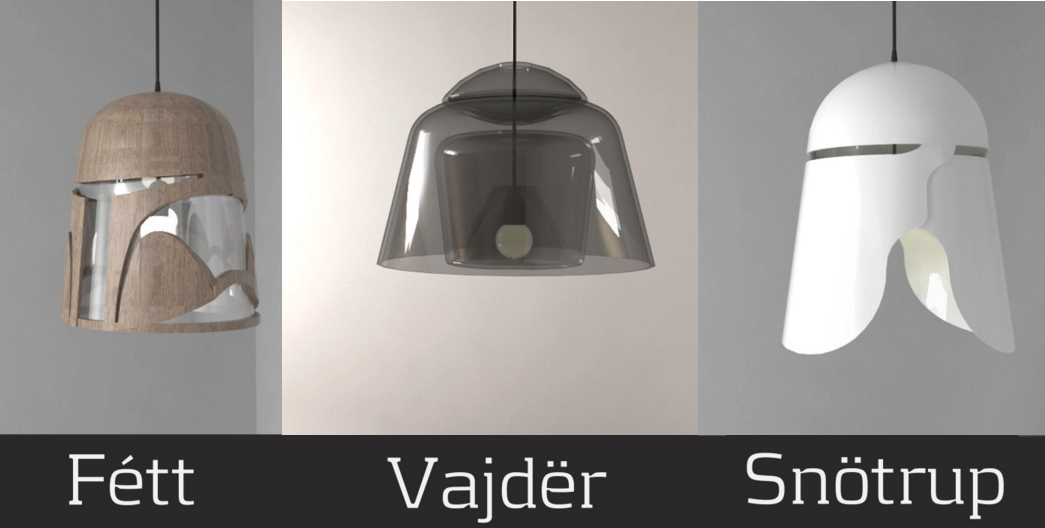 Star Wars Inspired Lighting Fixtures