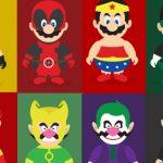 When Super Mario & Super Wario Becomes SuperHeros  2