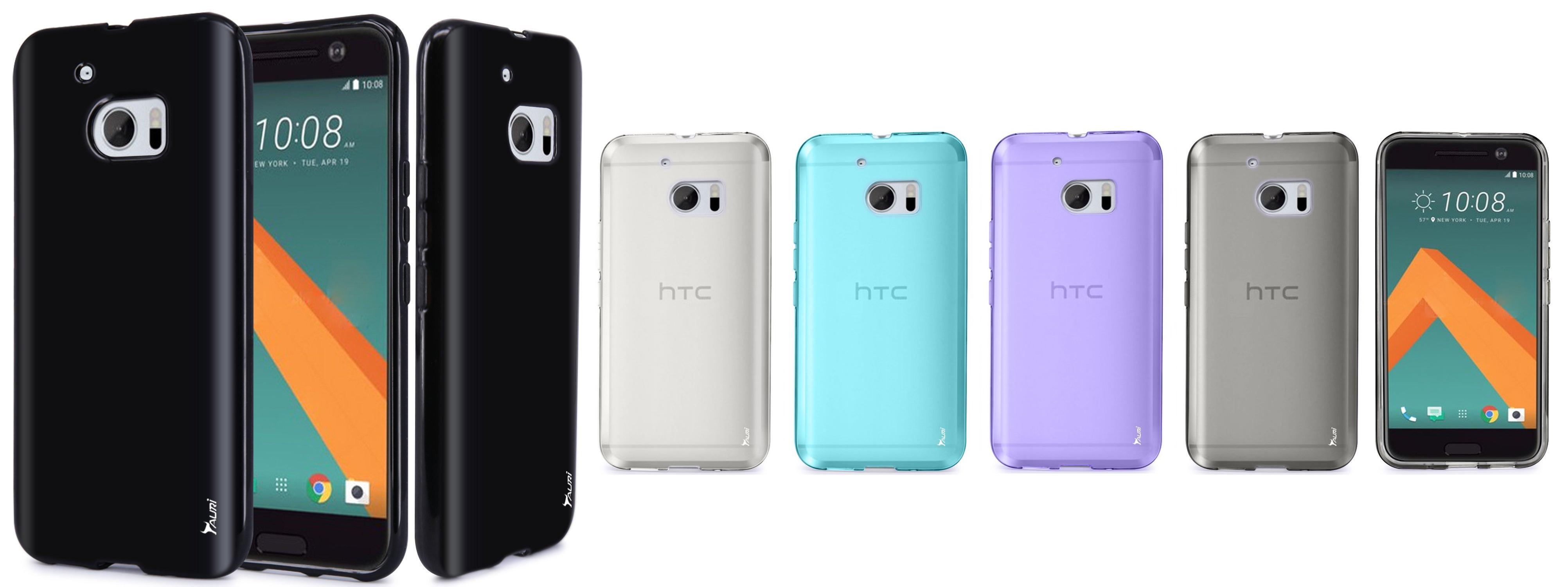best htc 10 case Ultra Slim Thin Clear Flexible Soft TPU Gel Skin Protective Case Cover