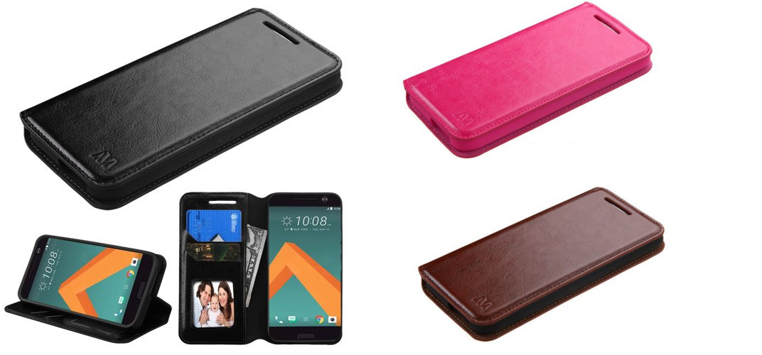 best htc 10 case Wallet Leather Case Premium Pouch ID Credit Card