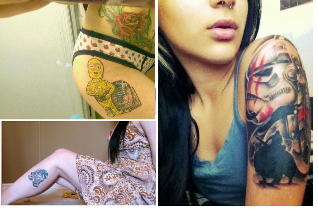 11 Sexy Star Wars Tattoos