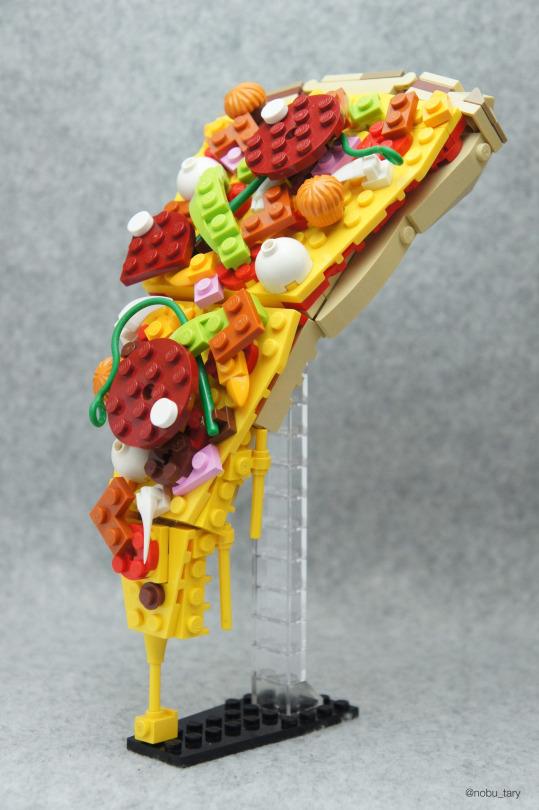 Artist Creates Yummy LEGO Food Sculptures