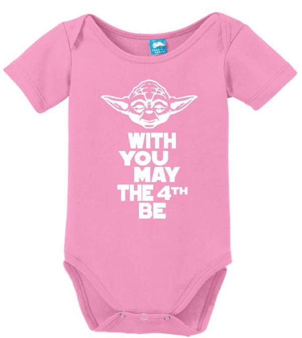 Baby Onesie May the Fourth be With You