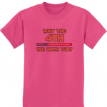 Children's May the 4th be with you