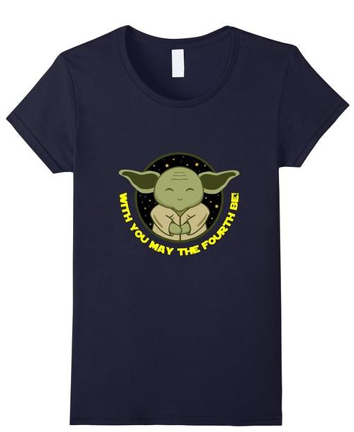 Cute Yoda May the Fourth Shirt