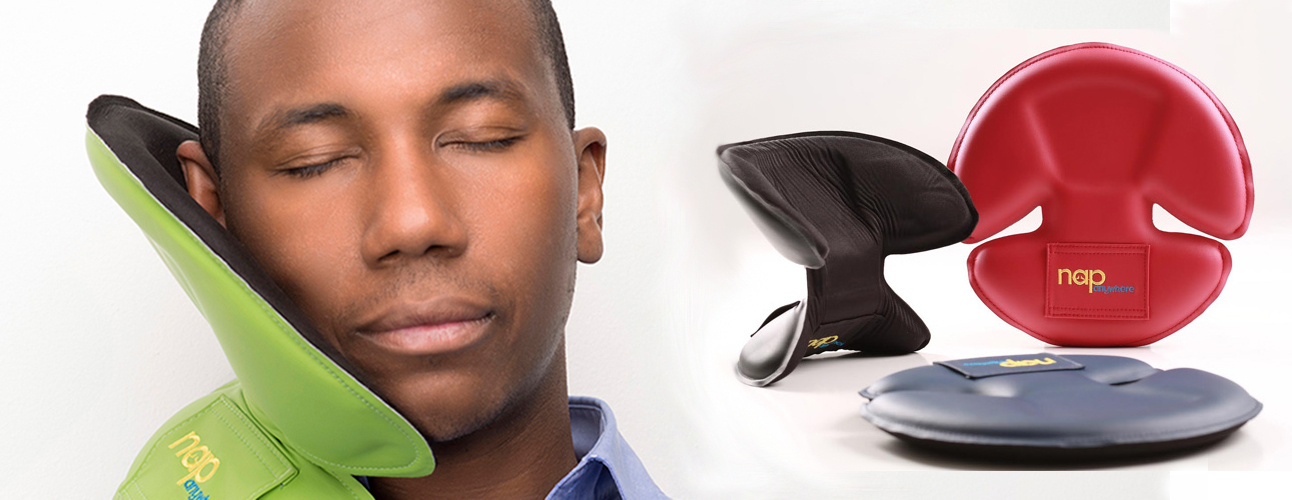 NapAnywhere Travel Pillow gadgets