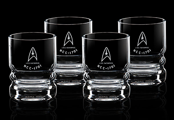 Star Trek U.S.S. Enterprise Glassware Set
