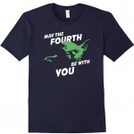 Yoda May the Fourth be With You Shirt