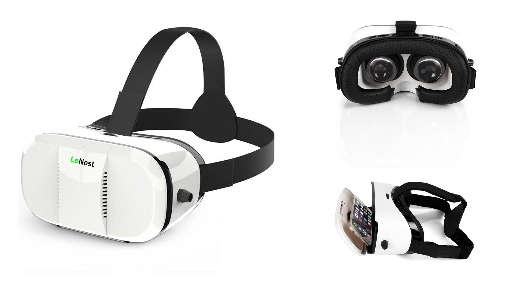 best vr headset 2016 LeNest VR Headset