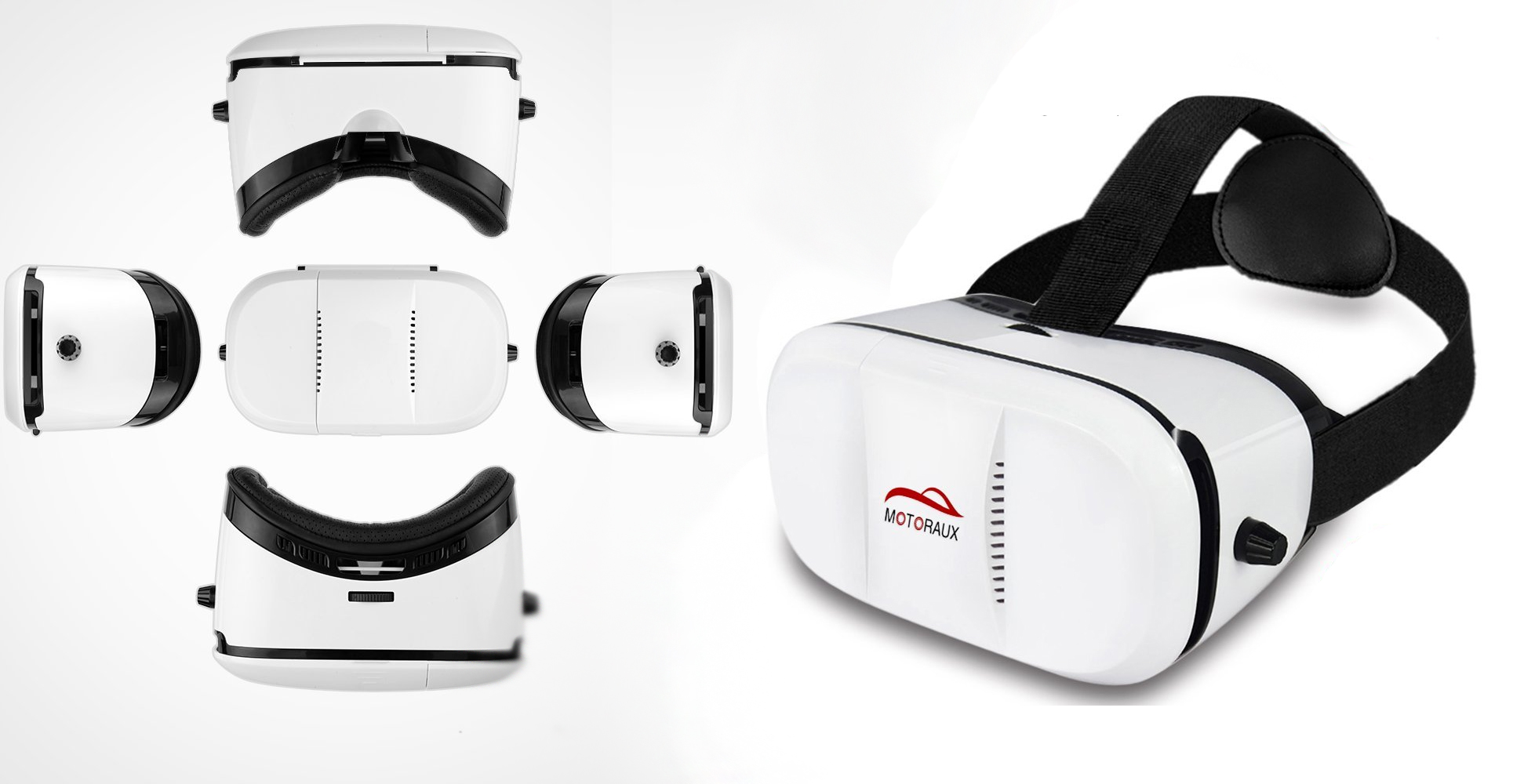 best vr headset 2016 Myopia-proof Motoraux Movie Visor VR Headsets