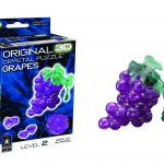 fathers day gift ideas 2016  3D Crystal Puzzle – Grapes