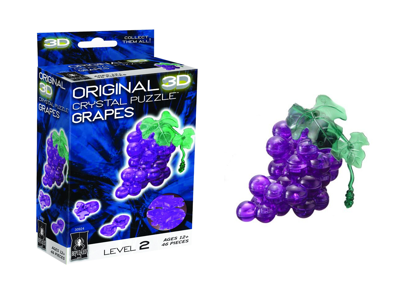fathers day gift ideas 2016 3D Crystal Puzzle - Grapes