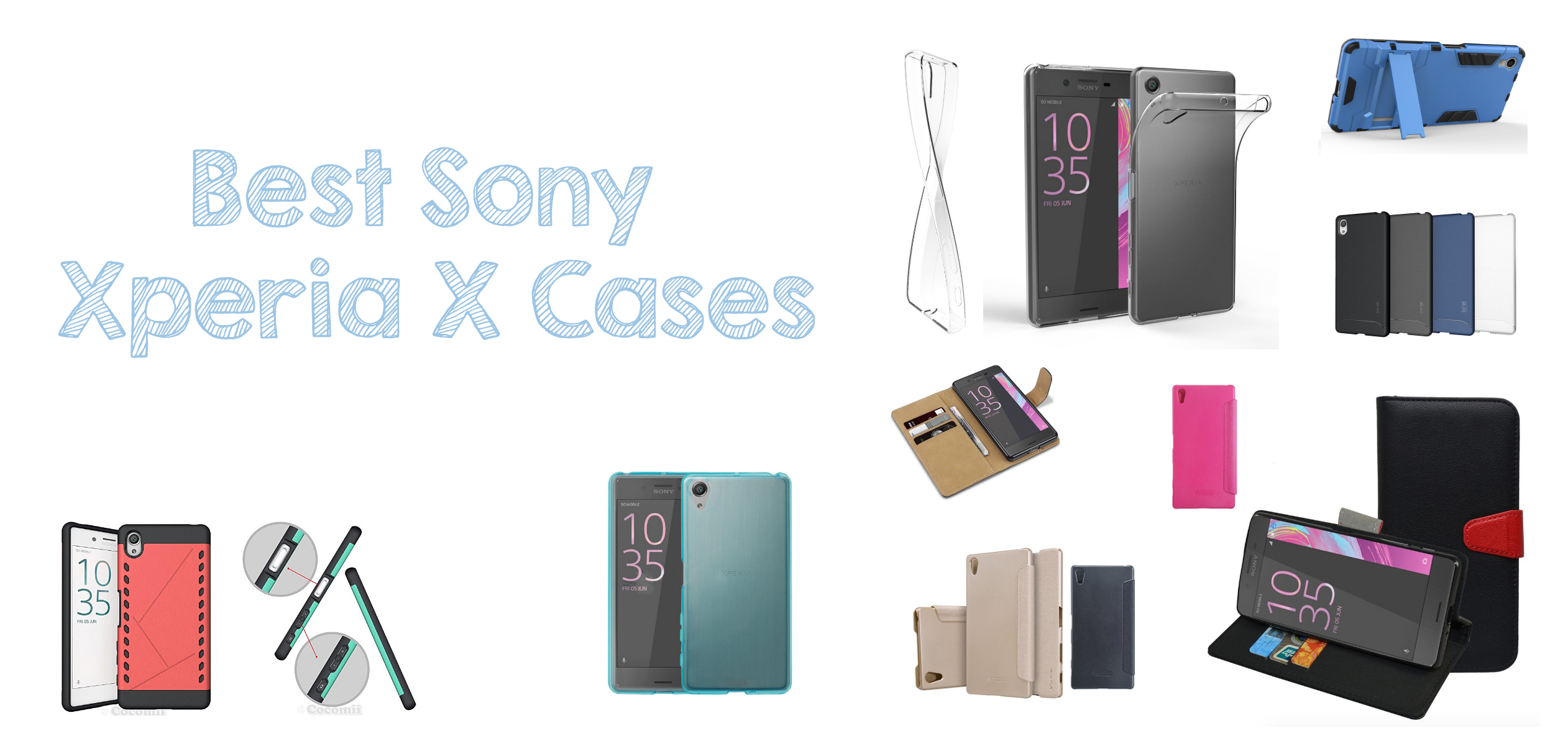2016 Best new Sony Xperia X phone Cases