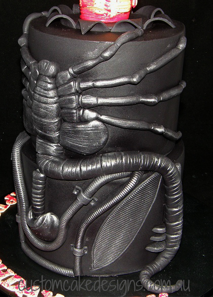 Alien Chestburster Face Hugger Side