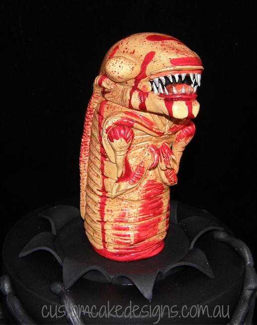 Alien Chestburster Side View 1