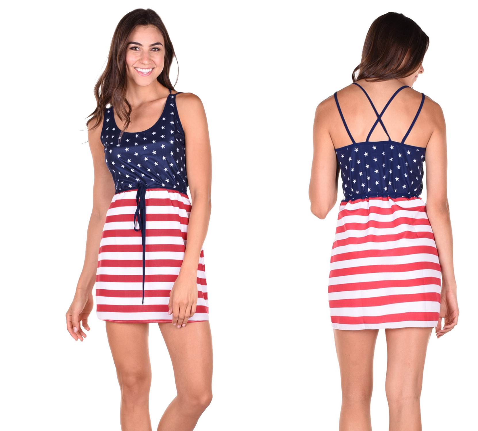 DRESS AMERICA 4th og july women dress