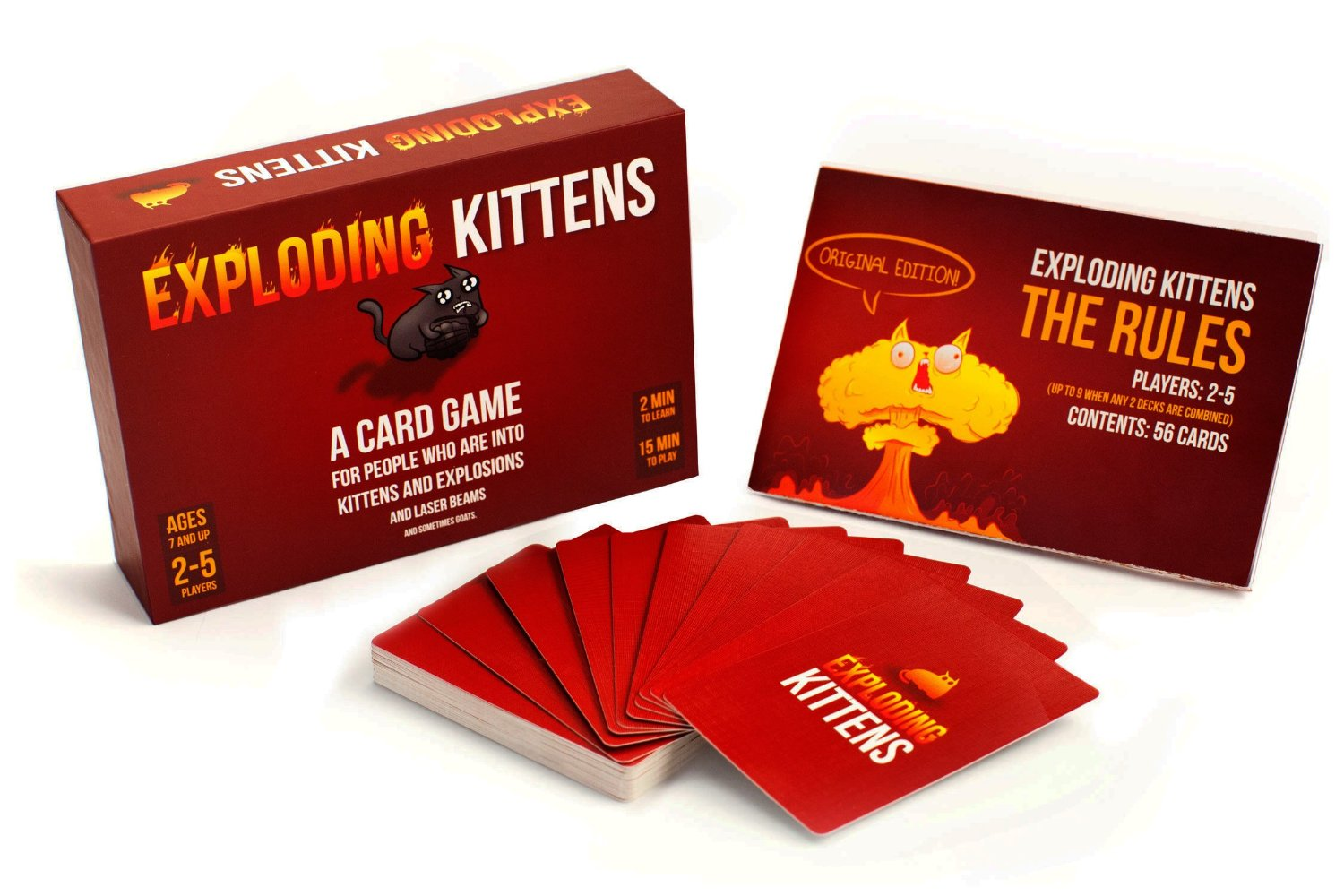 Exploding Kittens best dad gift ideas 2016