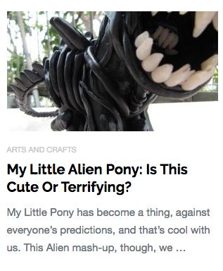 My Little Alien Pony
