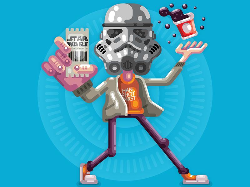 Star Wars Pixels Art by Raul Aguiar 1