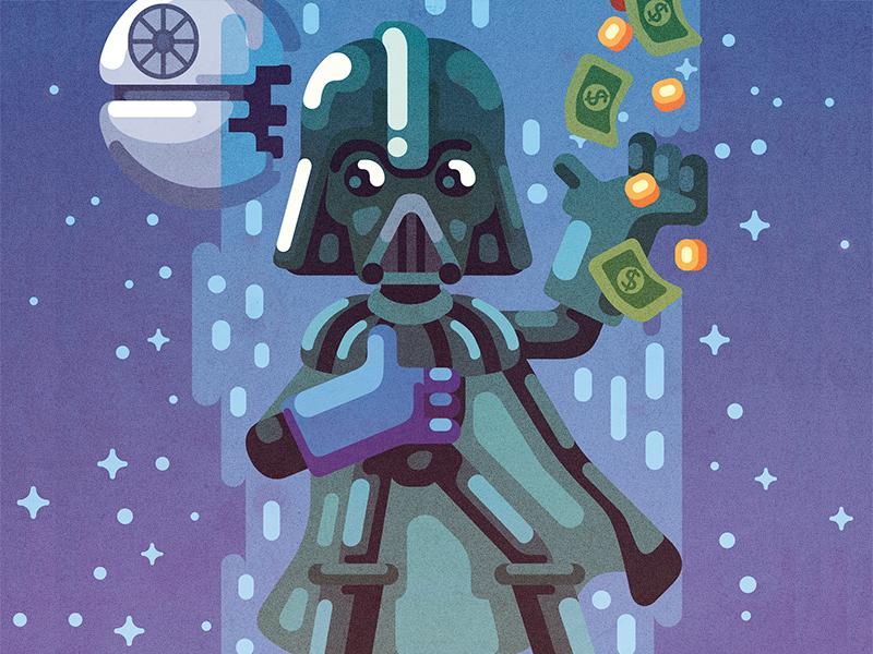 Star Wars Pixels Art by Raul Aguiar 2