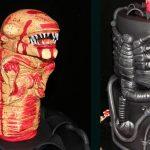amazin Alien Chestburster Cake
