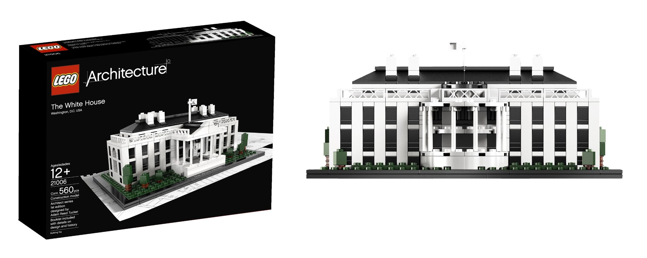 best logo for adultes father day gift idea LEGO Architecture White House