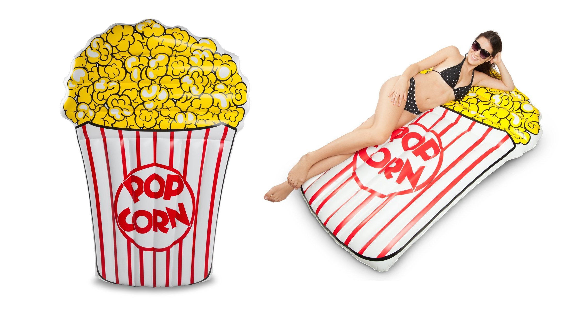 cool Giant Popcorn Pool Float