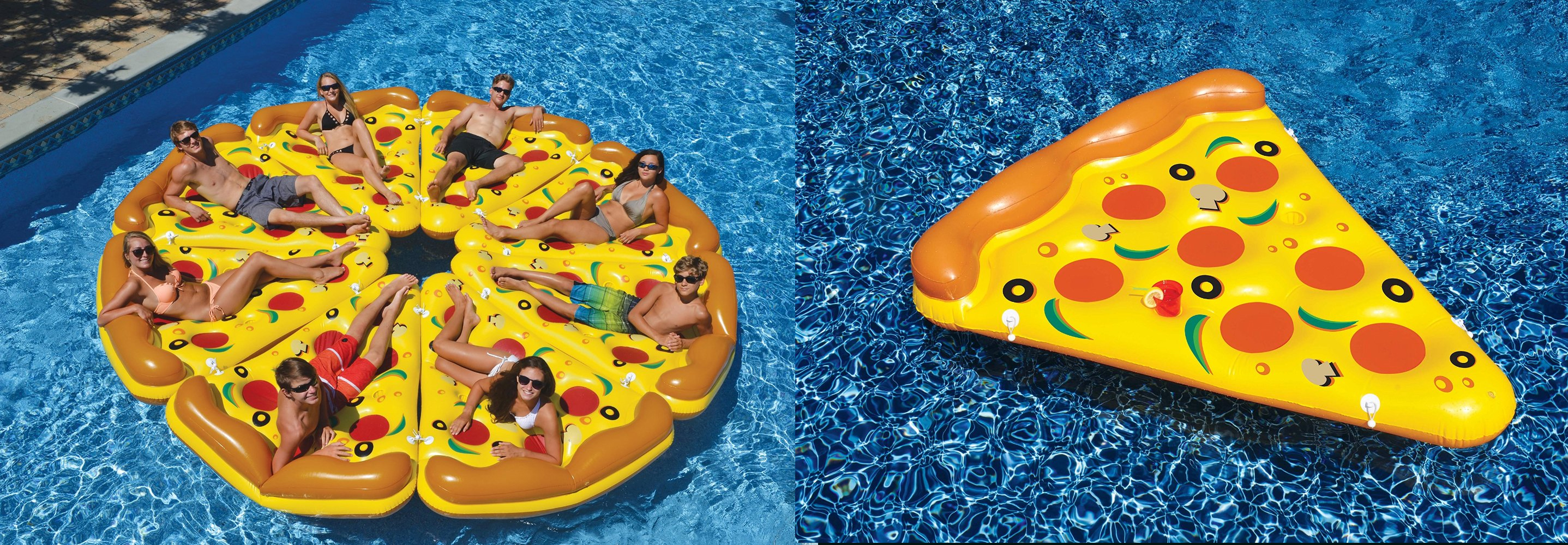cool Pool Floats Giant Inflatable Pizza Slice